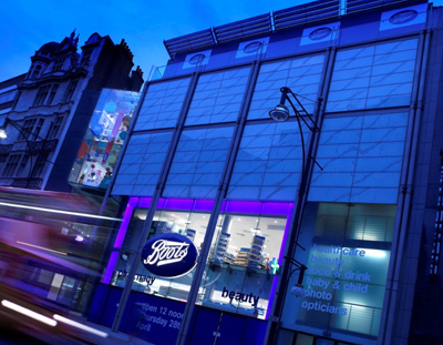 Mechanical Services, Heating and Pipework for Boots, Oxford Street, London