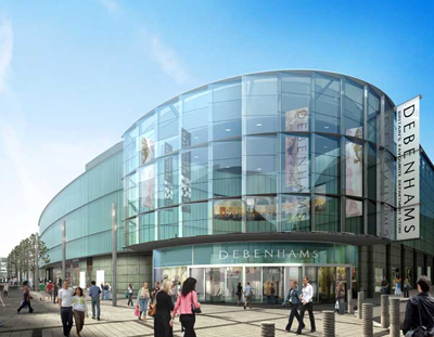 Mechanical Services and Pipework for Debenhams, Liverpool