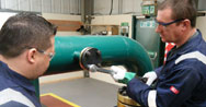 Skills training in mechanical services and pipework